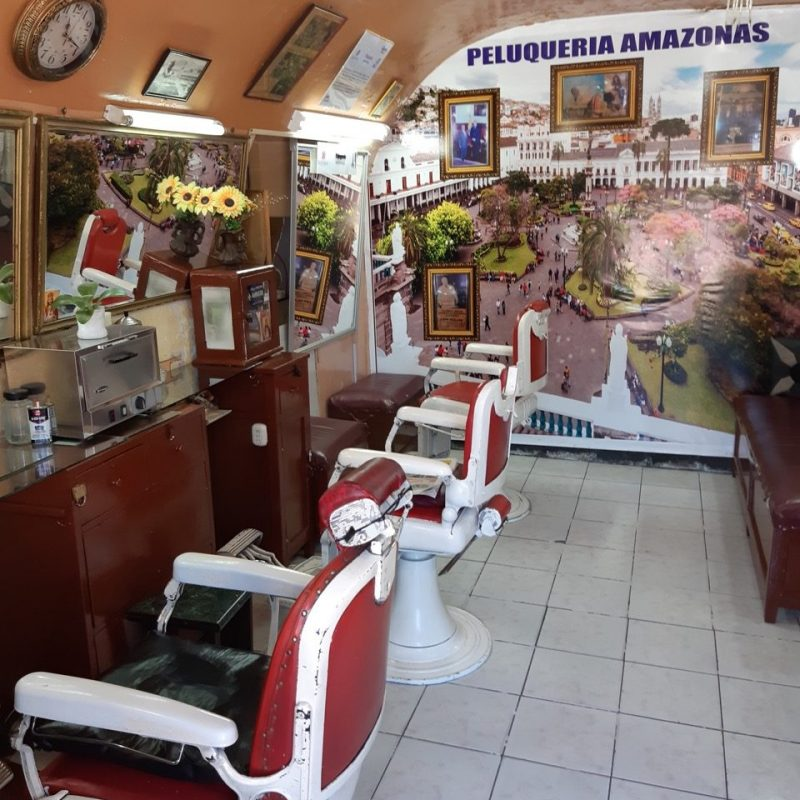 Barber Shop Quito Historical Quito Old Town