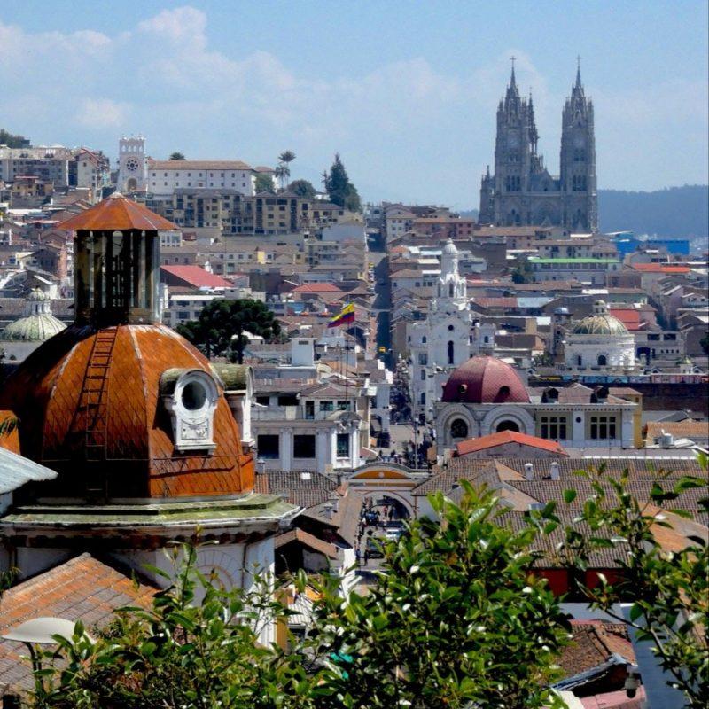 Quito Colonial Town. Walk for Tips Ecuador