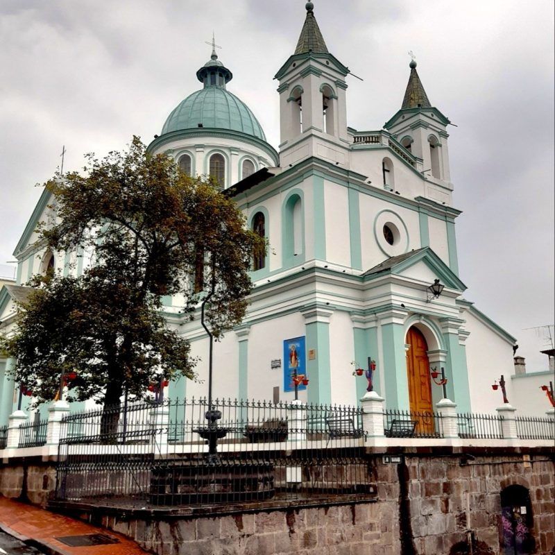 Carmen Bajo Church and Convent Quito Ecuador