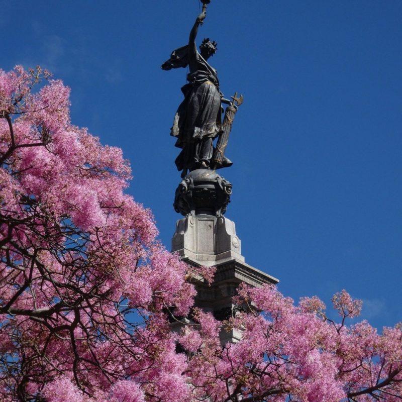 Independence Square Monument Quito, Ecuador