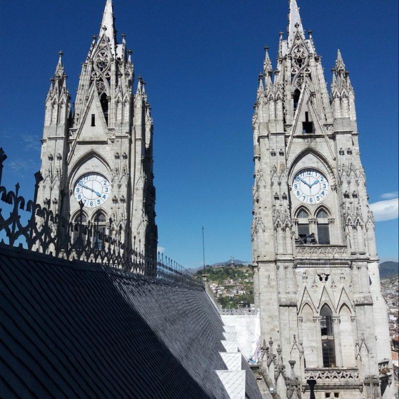 La Basilica church Quito, Ecuador