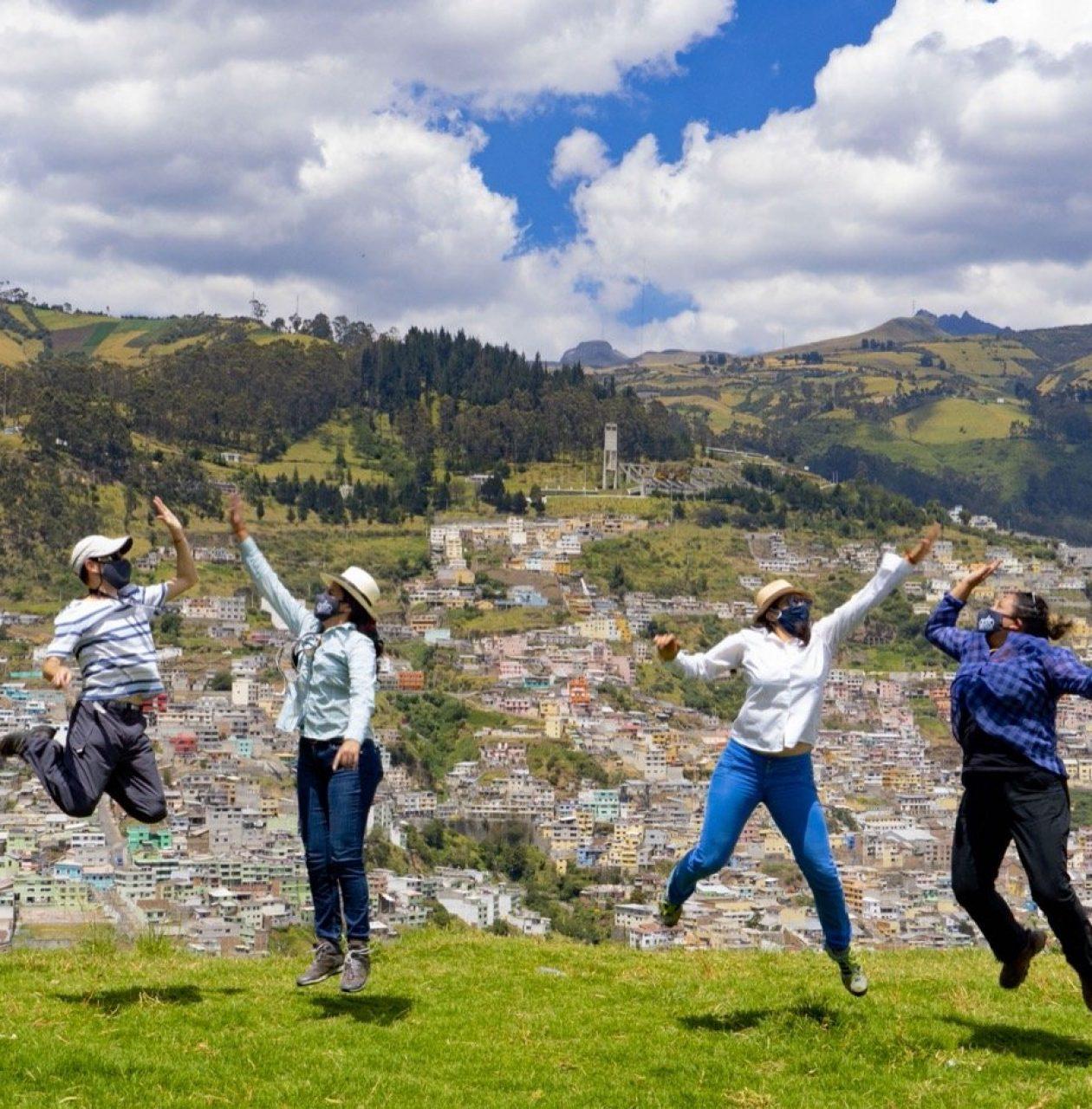 Panecillo Hill Walk For Tips Ecuador
