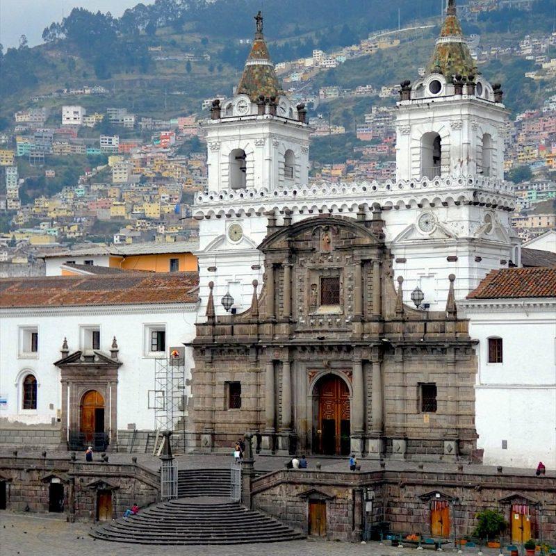 San Francisco Church, Quito. Walk for Tips Ecuador